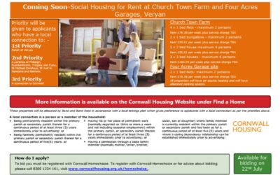 Veryan house rental opportunity